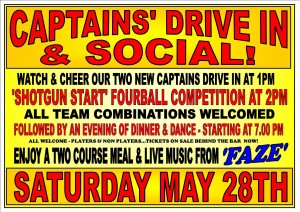 Captains drive in